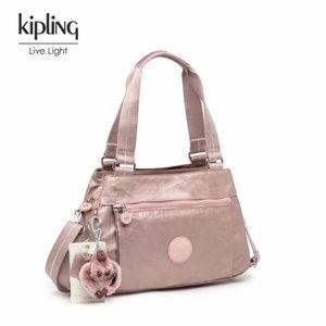 Kipling Crossbody Metallic Pink Bag